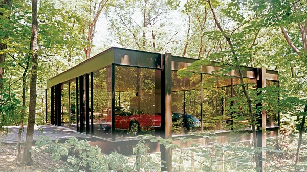 Image of Ferris Buellers Ferrari Glass House