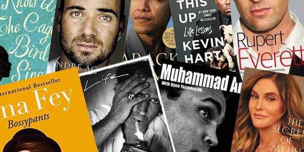 Image that Shows the Best celebrity biographies and memoirs