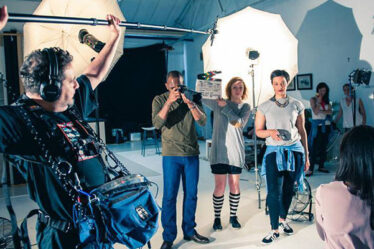 Behind The Scenes of TV Commercial Movie Films.