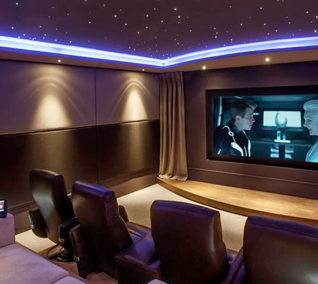 Best Home Cinema System Concept.